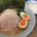 渡来武 - 味玉チャーシュー麺