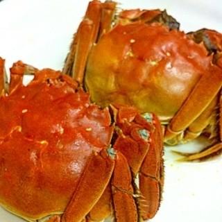 旬の上海蟹入荷しております