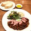 ビストロ ラ ノブティック - 料理写真:料理長のおすすめランチ(税別1,500円) 鴨のロースト