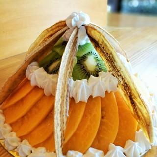 記念日やお祝いはEssenで。手作りケーキのお持ち帰りも可。