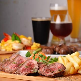●ステーキからジビエまで楽しめるグリル料理♪