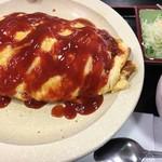 伊賀ドライブイン - サラダ、スープ付です