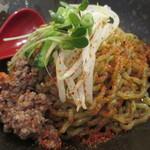 汁なし麺専門店 メンデザイン - 汁なし坦々麺 黒