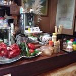 ひばり食堂 - カウンター