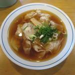 西村麺業 - ワンタン麺(大)