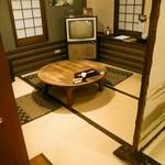 奥芝商店 - 奥芝商店と言えばちゃぶ台席もあります。