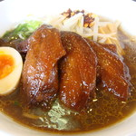 麺麺 - 期間限定手羽先ラーメン780円税別じっくりにこ