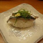 もち月寿司 - 小いわしのにぎり
