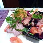 アンクィール - 2100円洋がメインの和洋折衷ランチ:1つ目の前菜