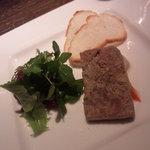 BANQUE - 鴨とフォアグラのパテ