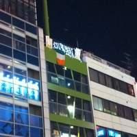 ダブリンガーデン - 御堂筋から見上げてみてください^^ Irishの国旗とイルミネーションが目印です!