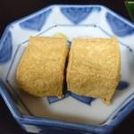 笹乃雪 - 朝顔 御膳の絹揚
