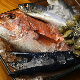 漁師直送!新鮮魚料理には自信アリ☆