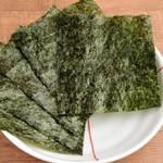 焼き海苔 5枚「+80円」