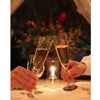 乾杯酒付き!【記念日コース】ご家族や恋人との大切な記念日に…