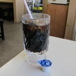 とらや - アイスコーヒー:250円。凄い量です