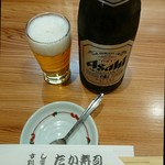 75284044 - 瓶ビール。