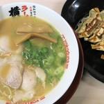 ラーメン横綱 - 料理写真:ラーメン+ぴり辛餃子