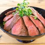 肉バル529 - ランプステーキ丼