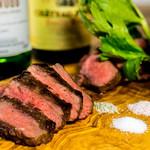 肉バル529 - 青森県産牛のステーキ
