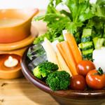 肉バル529 - 新鮮野菜のバーニャカウダ