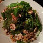 神楽坂 ワヰン 酒場 - マッシュルームのサラダ