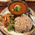 marusan&wacca - 「秋刀魚と梅肉のスパイスカレー」1,100円