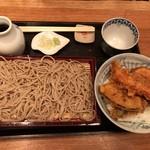 たばちょ - セイロと天丼