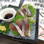 野口鮮魚店 - サバ刺は鮮度がイイ