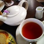カフェ フロインドリーブ 本店 - 紅茶