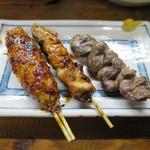 串っ子 - つくね、正肉、ハツ