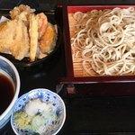 寿作 - 野菜天せいろ  1150円