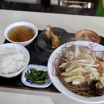 中華料理 凡 - バリソバ、ライス(ランチ)