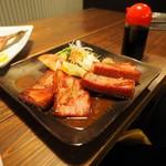 居酒屋コバラヘッタ - 厚切りベーコンステーキ