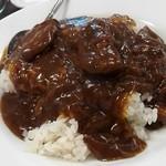 75292099 - 牛肉カレーご飯¥900
