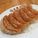 大阪王将 - 大山鶏シソ餃子