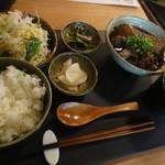 75293762 - 肉豆腐定食
