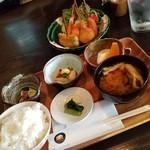 BEAT - ランチ「串揚げ定食 (850円)」