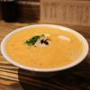 麺屋はやぶさ - 料理写真:オマール海老湯+貝玉ペースト☆