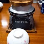 寿司のまつくら - 2017/10  海鮮釜飯の外観