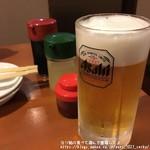 峰家 - 生ビール