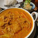 タイレストラン Smile Thailand - カリーガイセット
