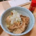 75299705 - 肉豆腐 300円