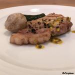 プラッサッジョ - 料理写真:佐助豚のサルディンボッカ
