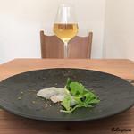 プラッサッジョ - GAVIと鮃のカルパッチョ