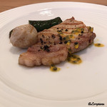 プラッサッジョ - 佐助豚のサルディンボッカ