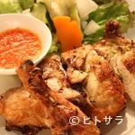 キンカオコン - ガイヤーン(タイ風焼き鳥)