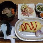 ばあちゃん家 - 料理写真:オムライス定食