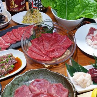 飲み放題付き宴会コースは4500円(税抜)~ご用意!