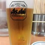 福しん 阿佐ヶ谷店 - 生ビール¥390